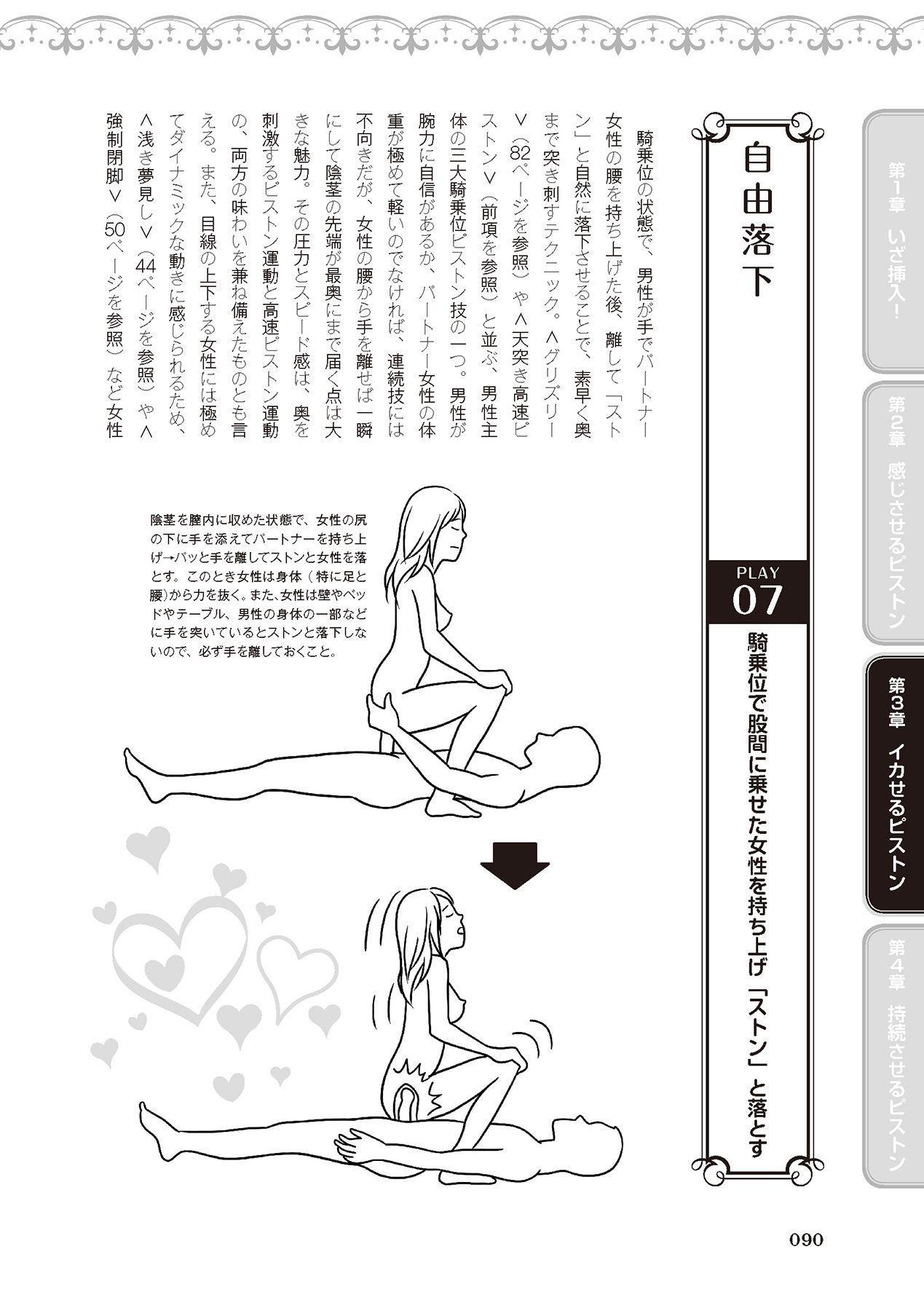 膣挿入&ピストン運動完全マニュアル イラスト版……ピスとんッ! 91
