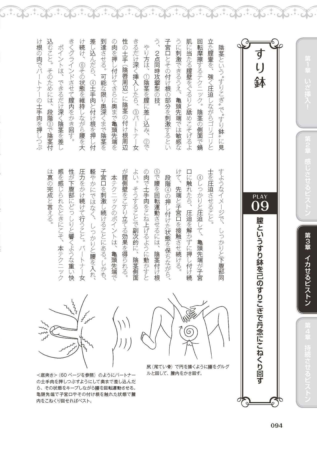 膣挿入&ピストン運動完全マニュアル イラスト版……ピスとんッ! 95