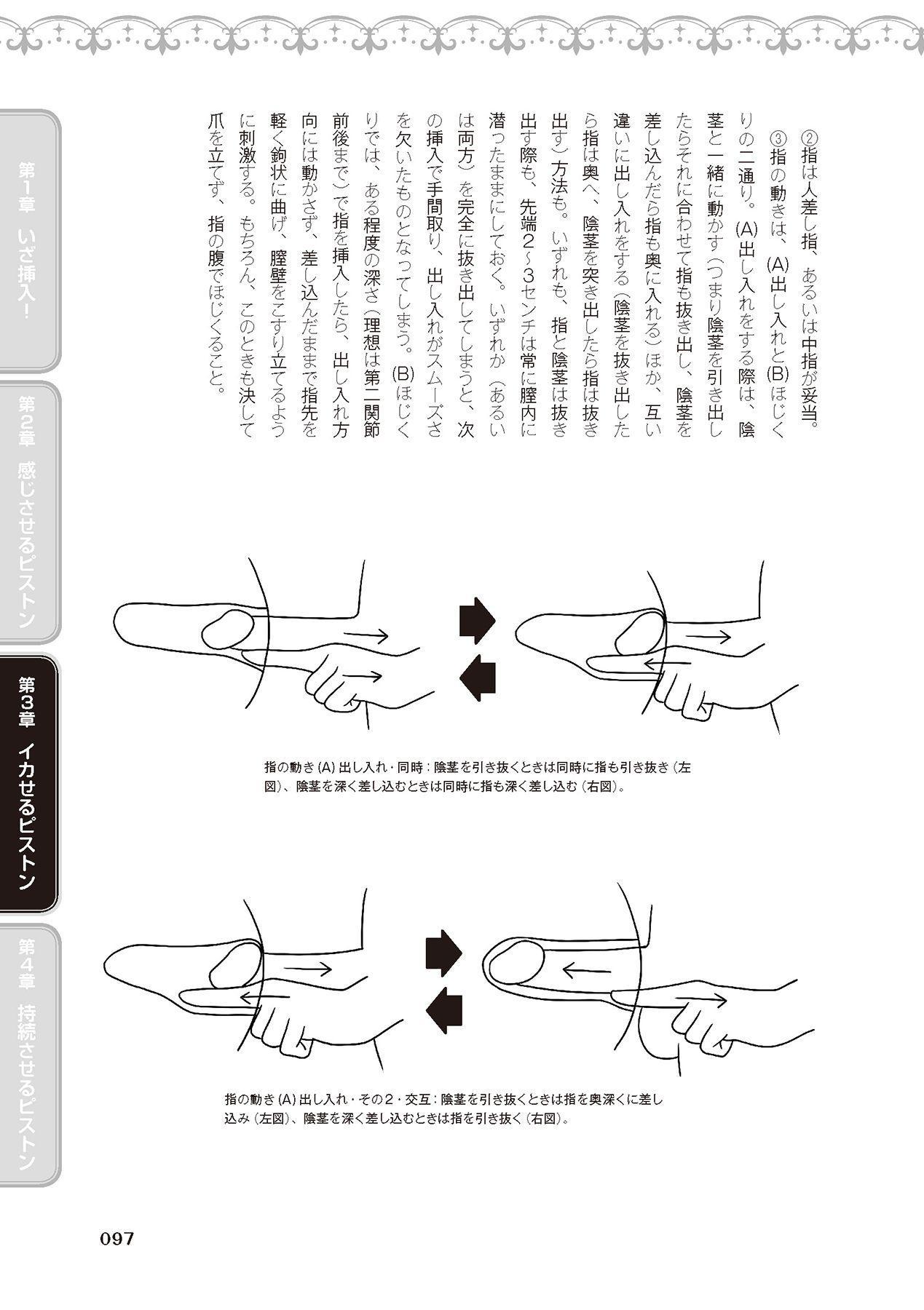 膣挿入&ピストン運動完全マニュアル イラスト版……ピスとんッ! 98