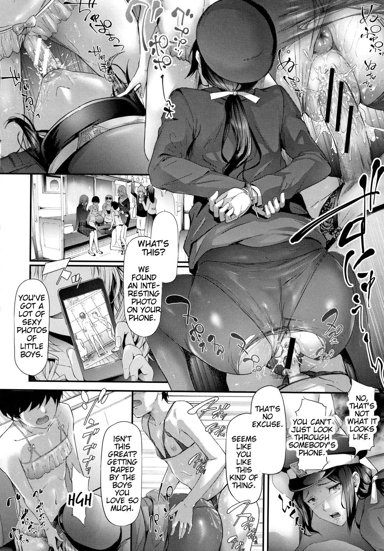 TR Gyaku Chikan Senyou Sharyou | Female Molester Train Ch. 1 -2 74