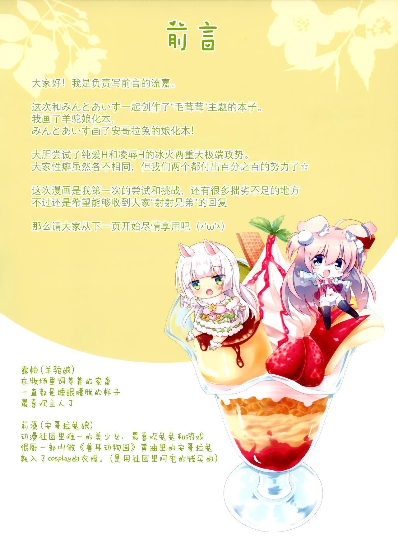 Menhera Usagi to Pet no Alpaca o Mofumofu Shichau Hon 3