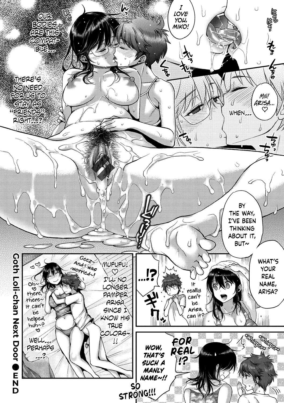 [Karube Guri] Tonari no Tsuiteru GothLoli-chan | Goth Loli-chan Next Door (Fushidara Honey) [English] [Fated Circle] [Digital] 19