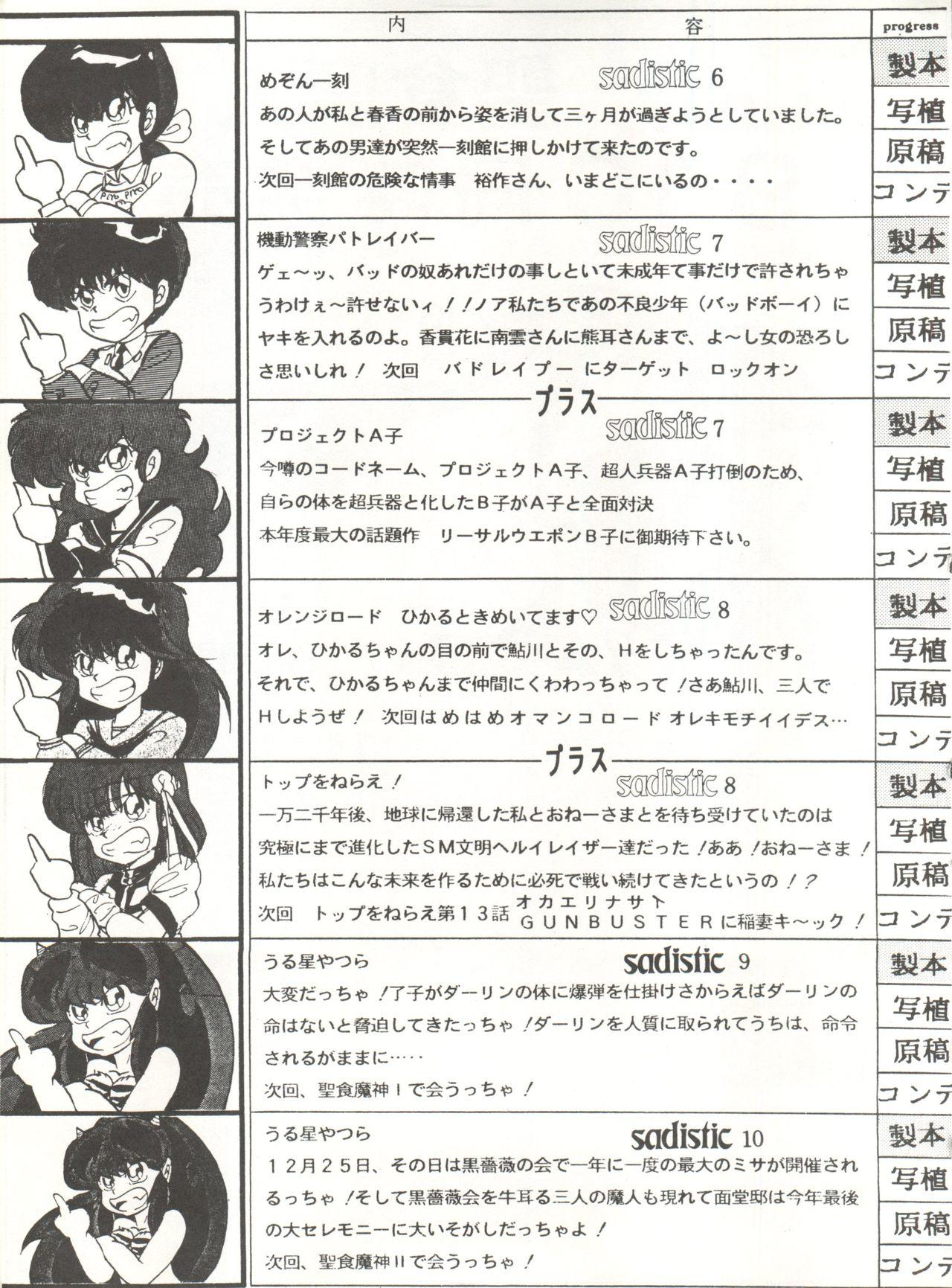 [Global One (MARO)] Sadistic 5 (Cutey Honey, Devilman, Sailor Moon), [Global One (MARO)] Sadistic (Dirty Pair, Fushigi no Umi no Nadia, Sailor Moon), [Studio Ikkatsumajin] .ribbon (Hime-chan's Ribbon) 122