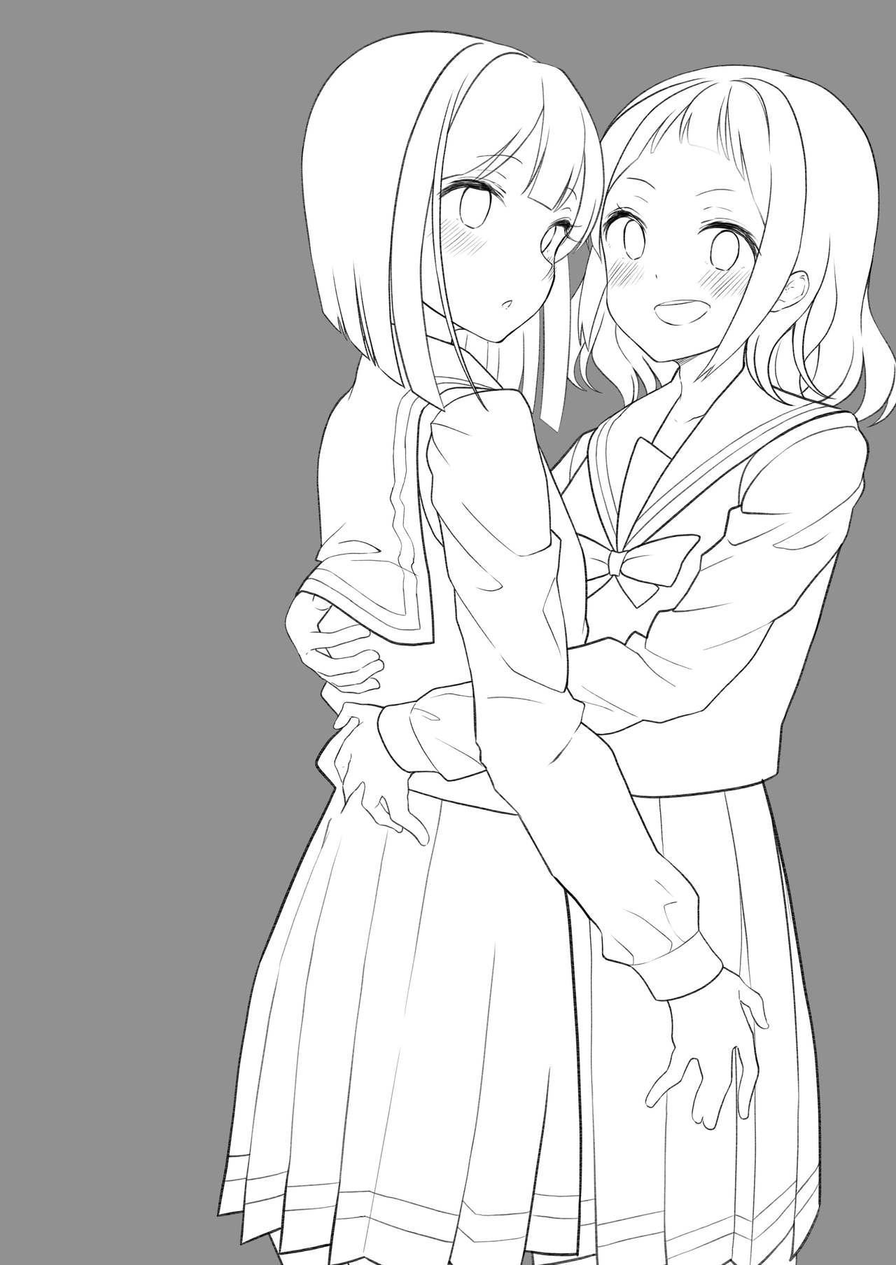 Succubus no Yuri na Hanashi 1 and 2 1