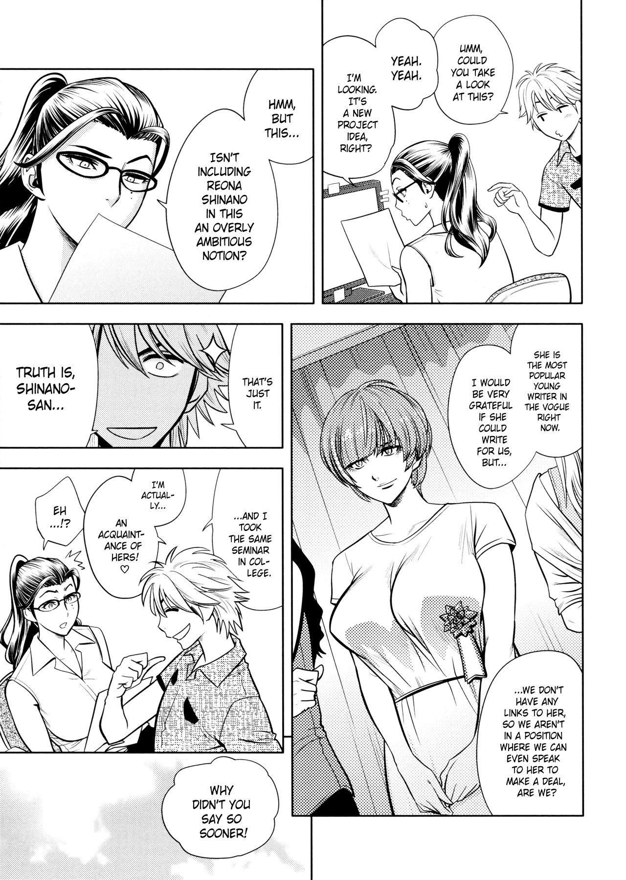 [Tatsunami Youtoku, Yamazaki Masato] Bijin Henshuu-chou no Himitsu | Beautiful Editor-in-Chief's Secret Ch. 1-7 [English] [Forbiddenfetish77, Red Vodka, Crystalium, CEDR777] [Decensored] 106