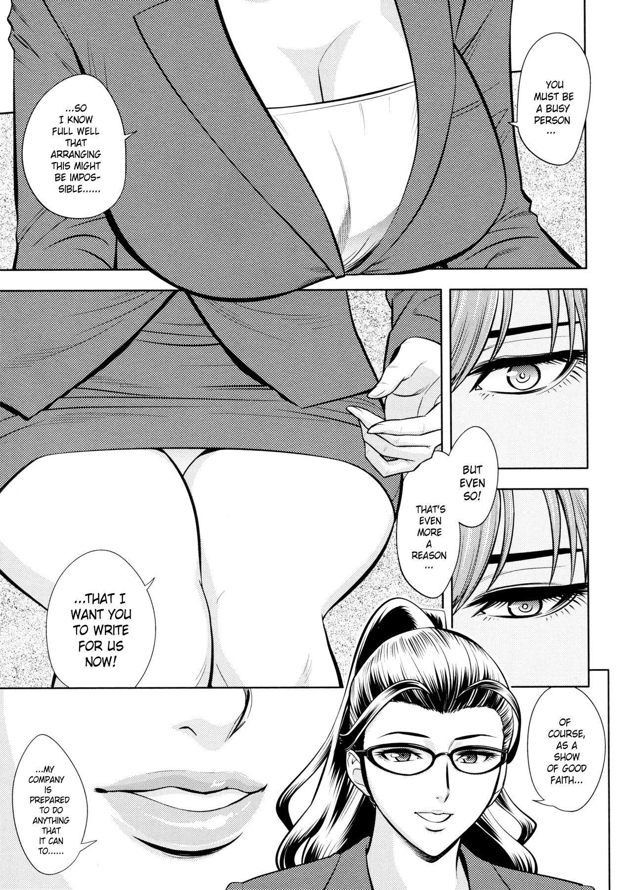 [Tatsunami Youtoku, Yamazaki Masato] Bijin Henshuu-chou no Himitsu | Beautiful Editor-in-Chief's Secret Ch. 1-7 [English] [Forbiddenfetish77, Red Vodka, Crystalium, CEDR777] [Decensored] 108