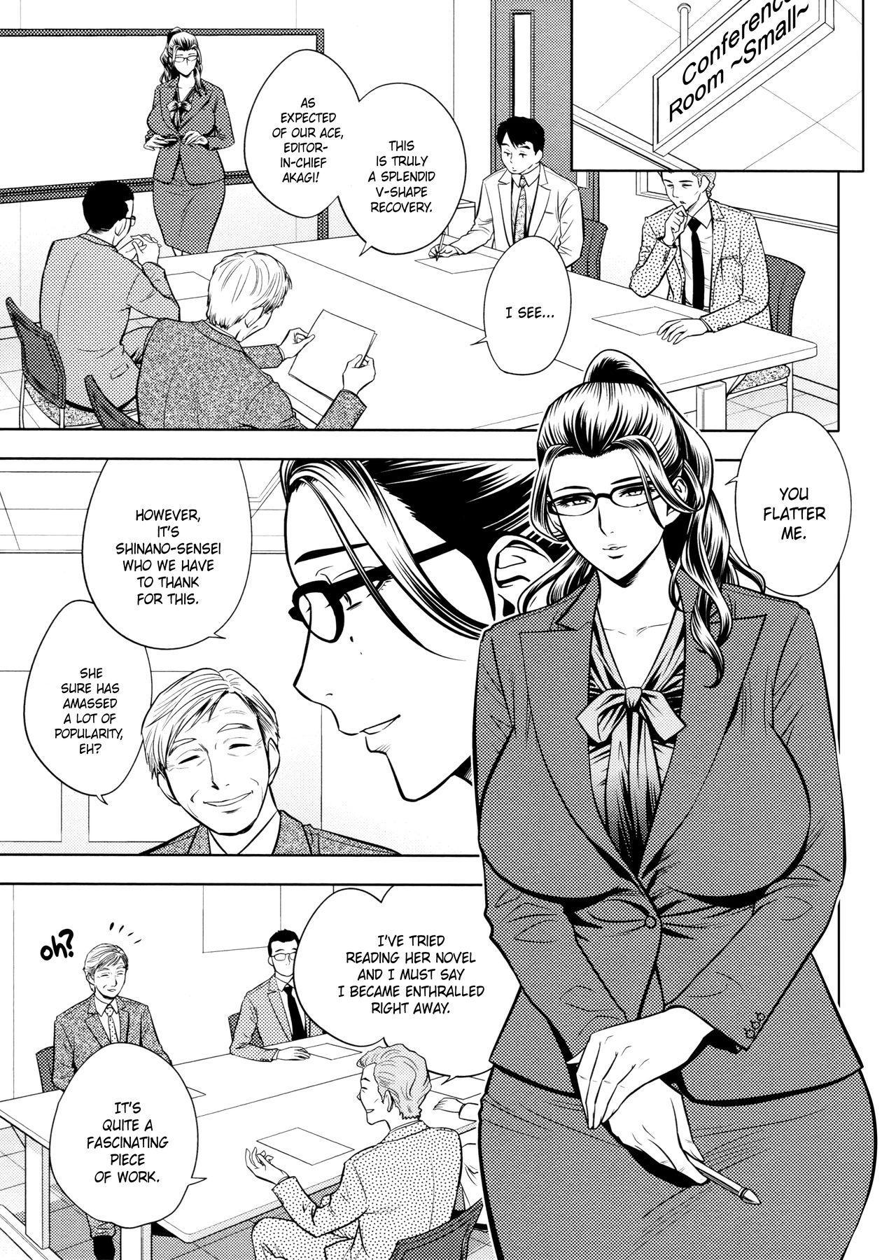 [Tatsunami Youtoku, Yamazaki Masato] Bijin Henshuu-chou no Himitsu | Beautiful Editor-in-Chief's Secret Ch. 1-7 [English] [Forbiddenfetish77, Red Vodka, Crystalium, CEDR777] [Decensored] 132