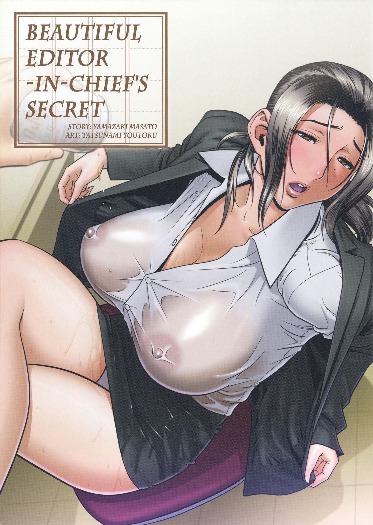 [Tatsunami Youtoku, Yamazaki Masato] Bijin Henshuu-chou no Himitsu | Beautiful Editor-in-Chief's Secret Ch. 1-7 [English] [Forbiddenfetish77, Red Vodka, Crystalium, CEDR777] [Decensored] 2