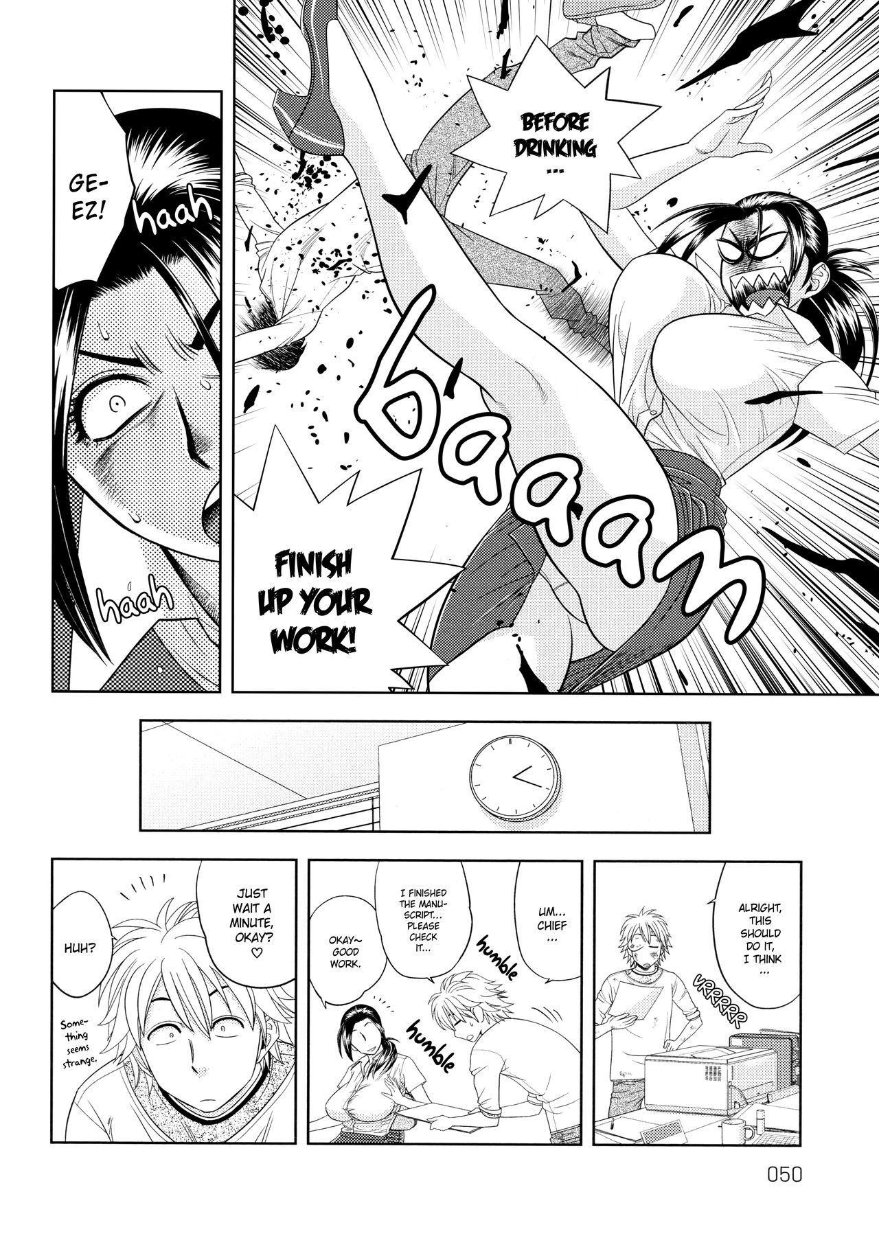 [Tatsunami Youtoku, Yamazaki Masato] Bijin Henshuu-chou no Himitsu | Beautiful Editor-in-Chief's Secret Ch. 1-7 [English] [Forbiddenfetish77, Red Vodka, Crystalium, CEDR777] [Decensored] 49