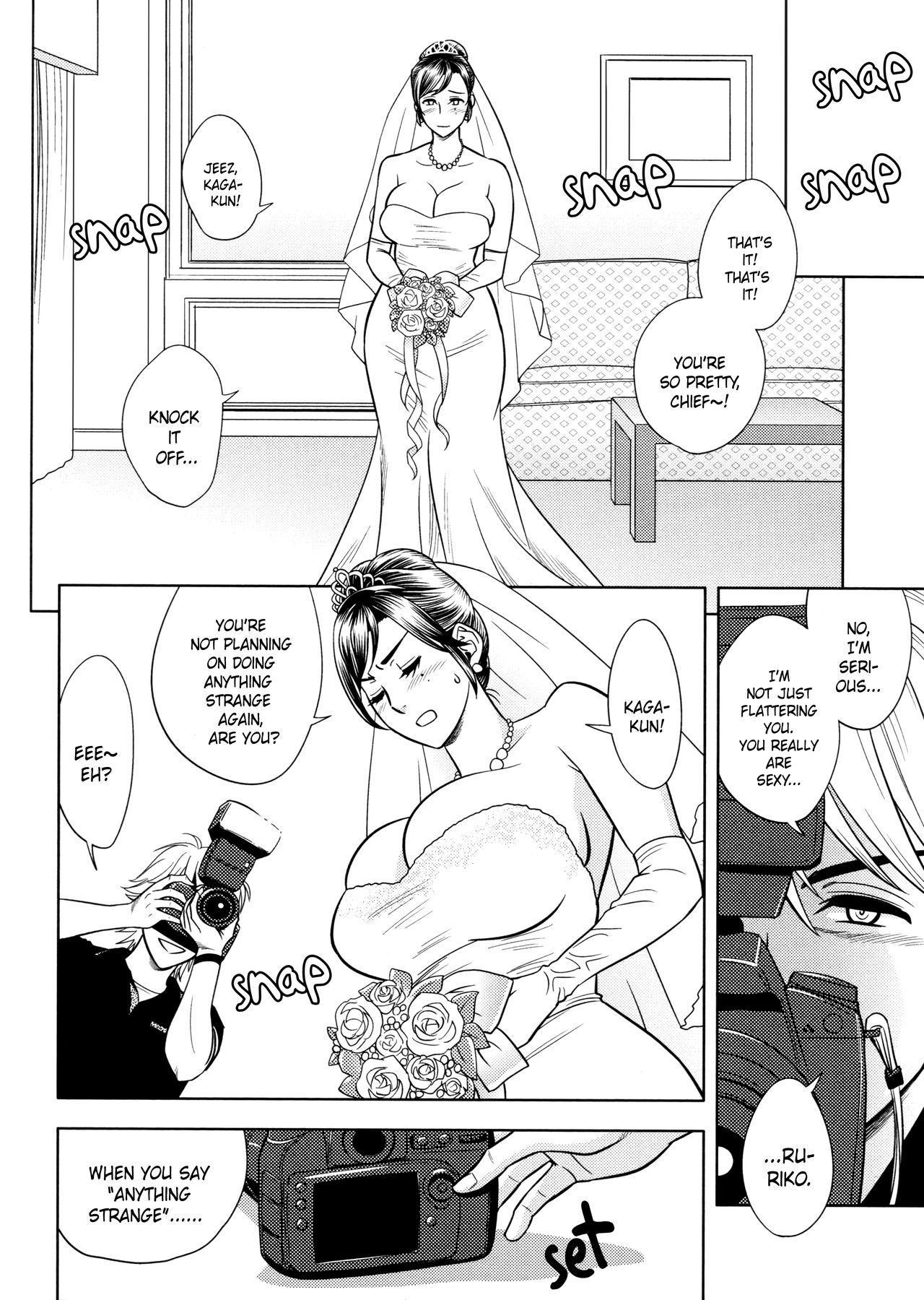 [Tatsunami Youtoku, Yamazaki Masato] Bijin Henshuu-chou no Himitsu | Beautiful Editor-in-Chief's Secret Ch. 1-7 [English] [Forbiddenfetish77, Red Vodka, Crystalium, CEDR777] [Decensored] 87