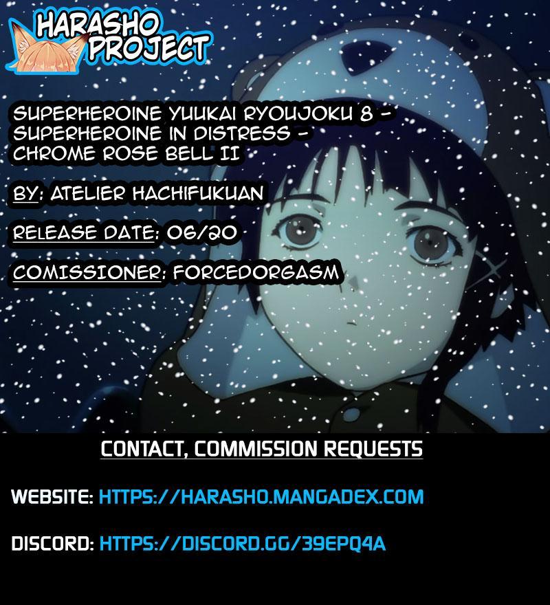 [Atelier Hachifukuan] Superheroine Yuukai Ryoujoku 8 - Superheroine in Distress - Chrome Rose Bell II [English] [Harasho Project] 39