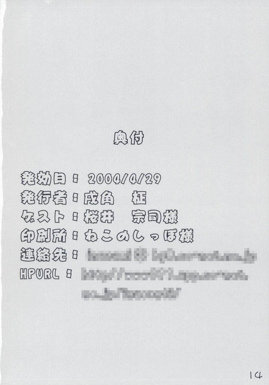 (CR35) [Newton no Ringo (Inuzumi Masaki)] -Iro- (Fate/stay night) 13