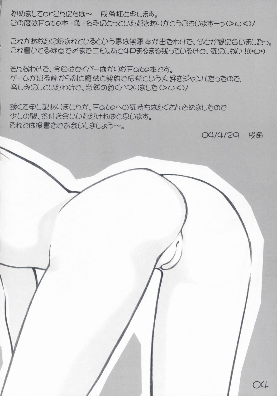 (CR35) [Newton no Ringo (Inuzumi Masaki)] -Iro- (Fate/stay night) 3