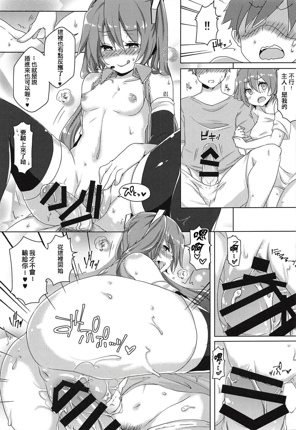 (THE VOC@LOiD M@STER 41) [Kusoyuridanchi (Johnson)] Chippai-san to Deppai-san (VOCALOID) [Chinese] [舒馬克個人漢化] 11