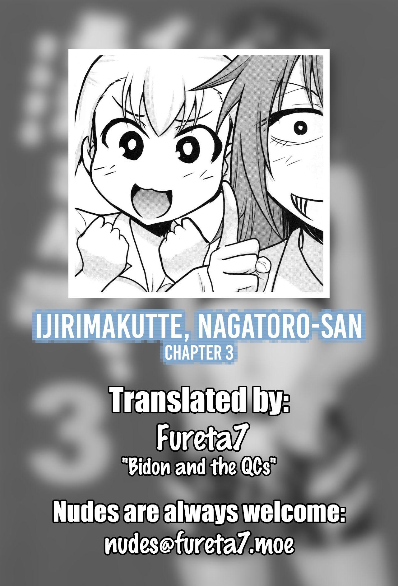 Ijirimakutte, Nagatoro-san 3 18