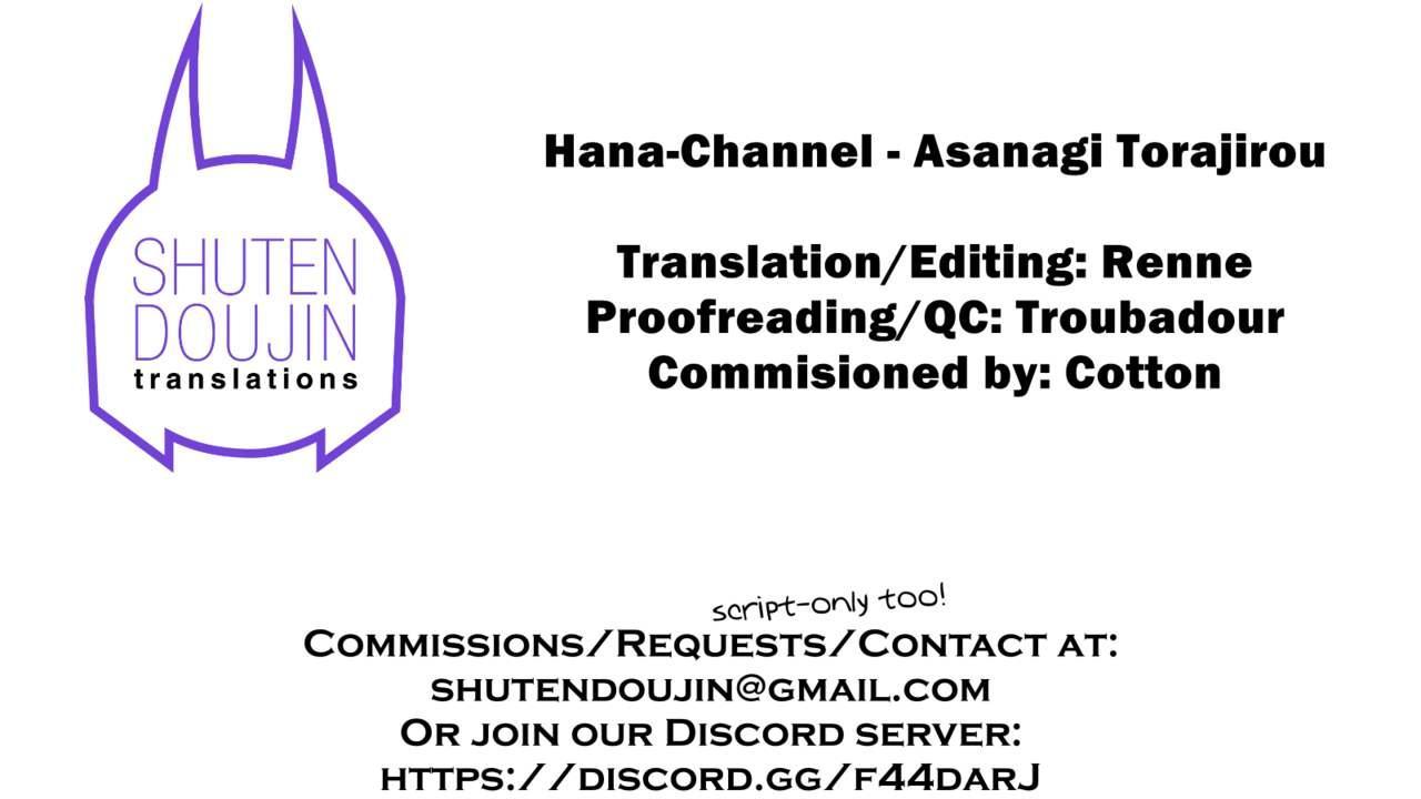 [Sanagi Torajirou] Hana-Channel 01-04 (COMIC HOTMILK) [English] [SDTLs] [Digital] 88