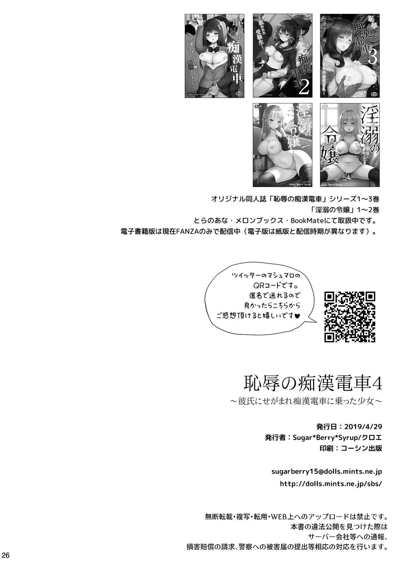 Chijoku no Chikan Densha 4 26