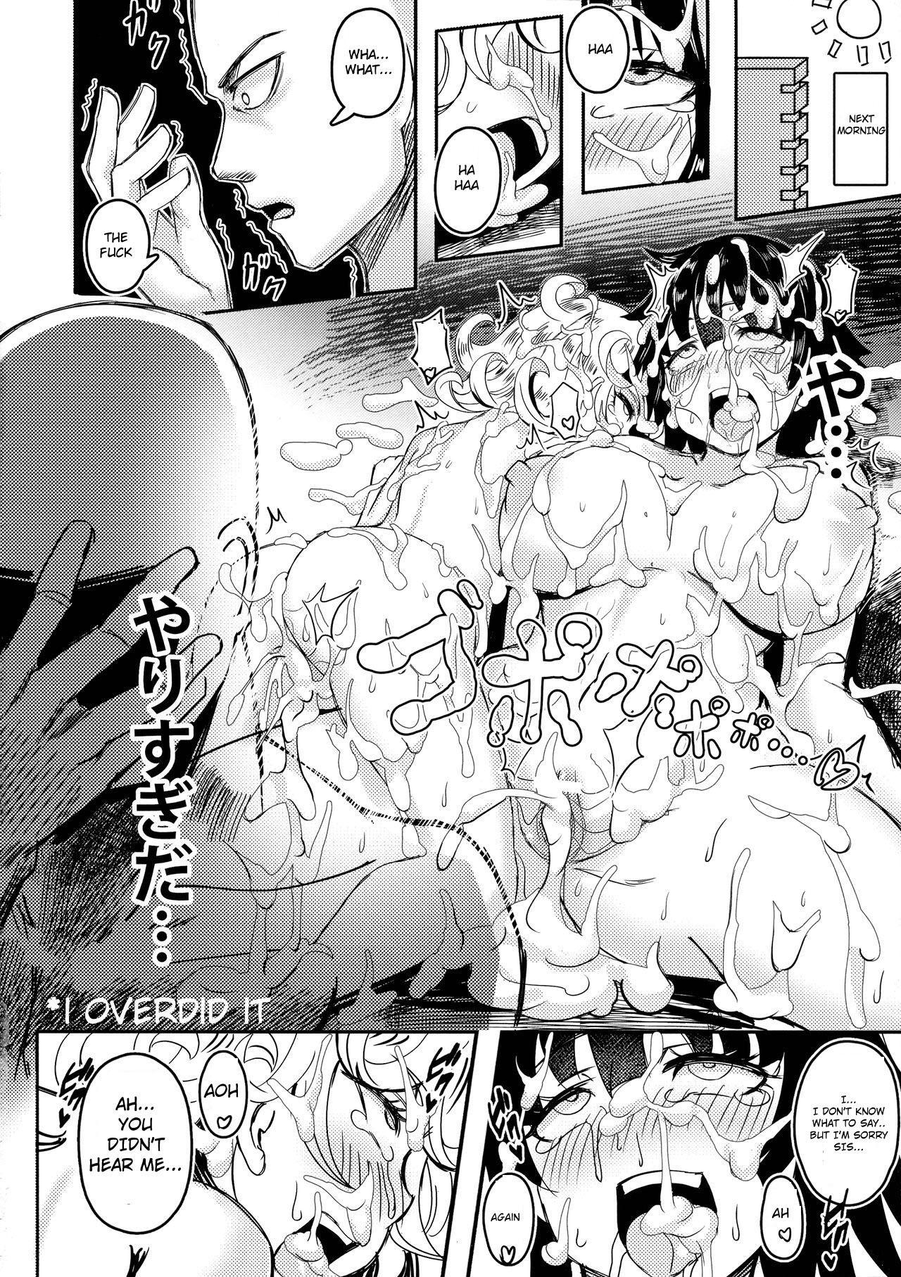 ONE PORNCH MAN Tatsumaki Shimai 23