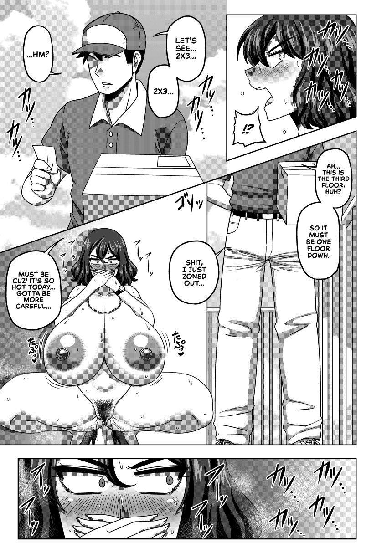 (Reitaisai 17) [Nacchuushou (Amazon)] Auto-Lock ni Zenra de Shimedasareru Kazami Yuuka 29-sai OL | 29 Year Old Office Lady Kazami Yuuka Auto-locked Outside in the Nude (Touhou Project) [English] [RedLantern] 6