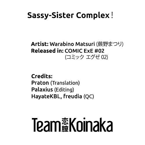 Sassy-Sister Complex! 8