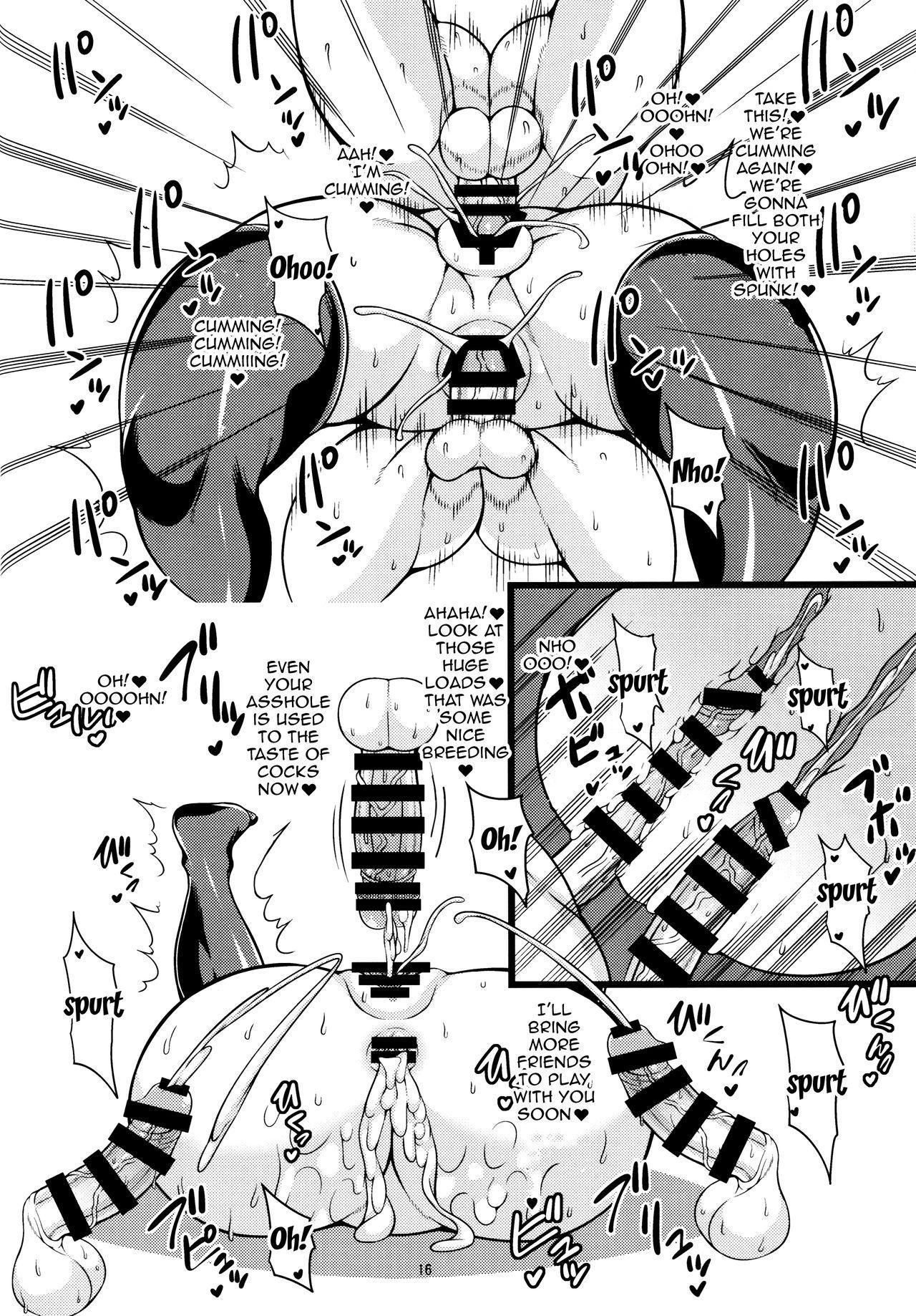 Kaga-san ga ShotaChin de Nhoo suru Hon Kai   A Book About A Shota Cock Making Kaga Moan 14