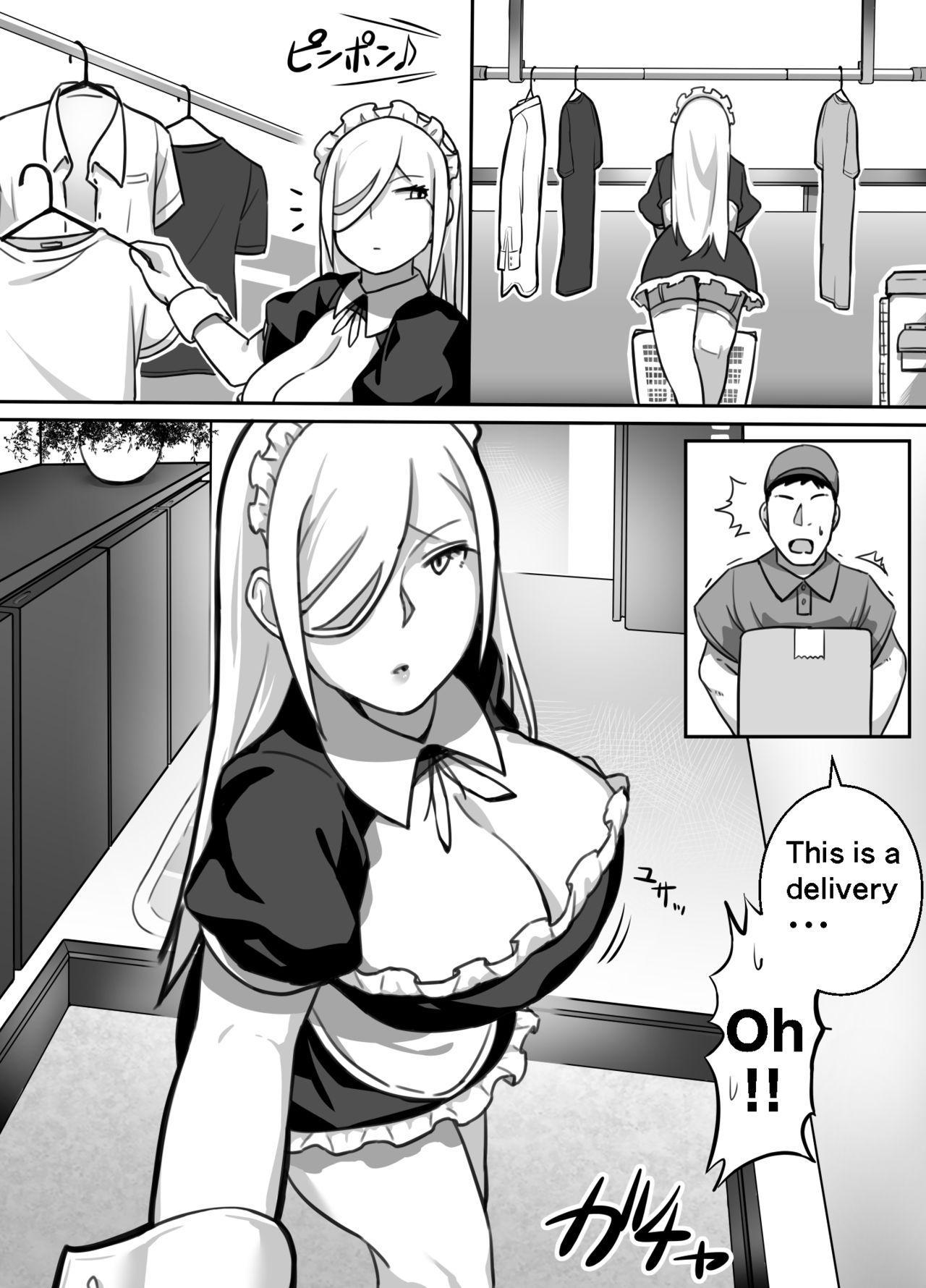 Heroine to Saoyaku ga Ichido mo Shaberanai Ero Manga   The Silent Duo 50