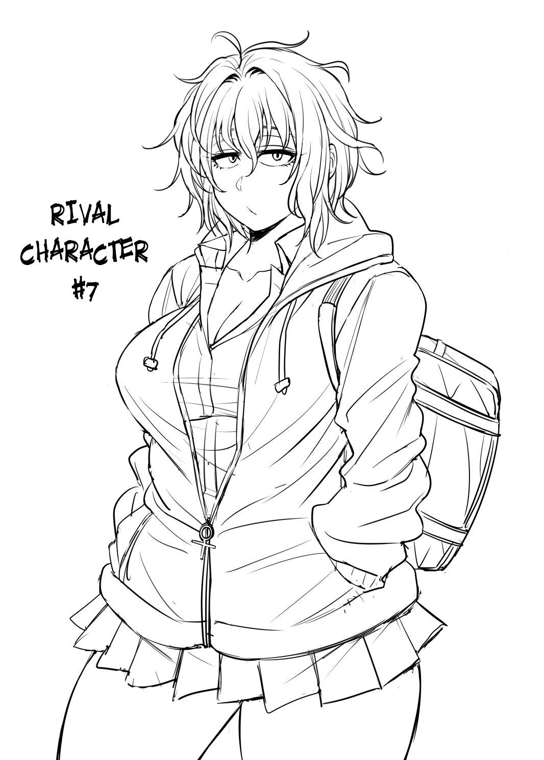 Nekura Megane ♀   The Creepy Glasses Girl 215