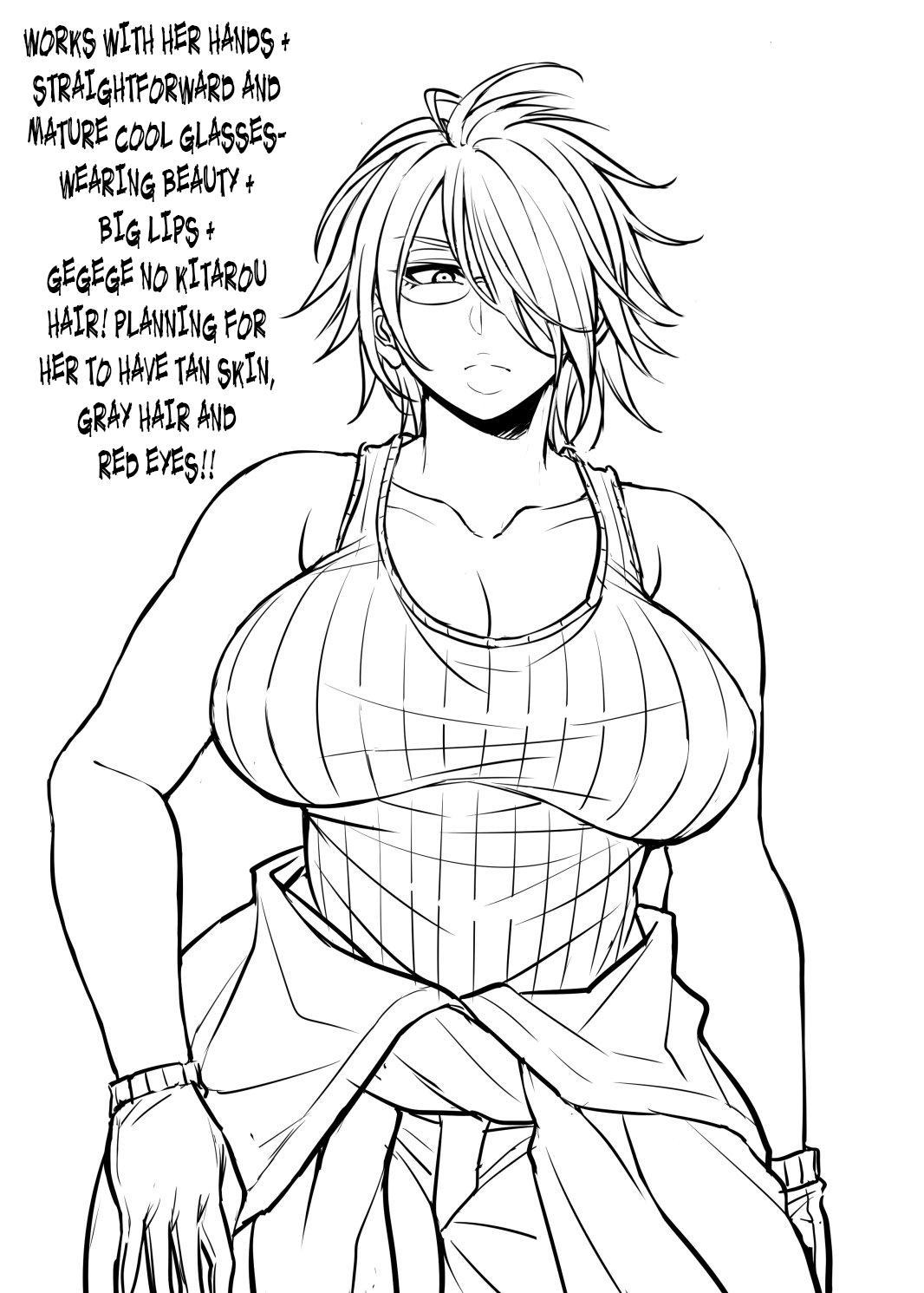 Nekura Megane ♀   The Creepy Glasses Girl 226