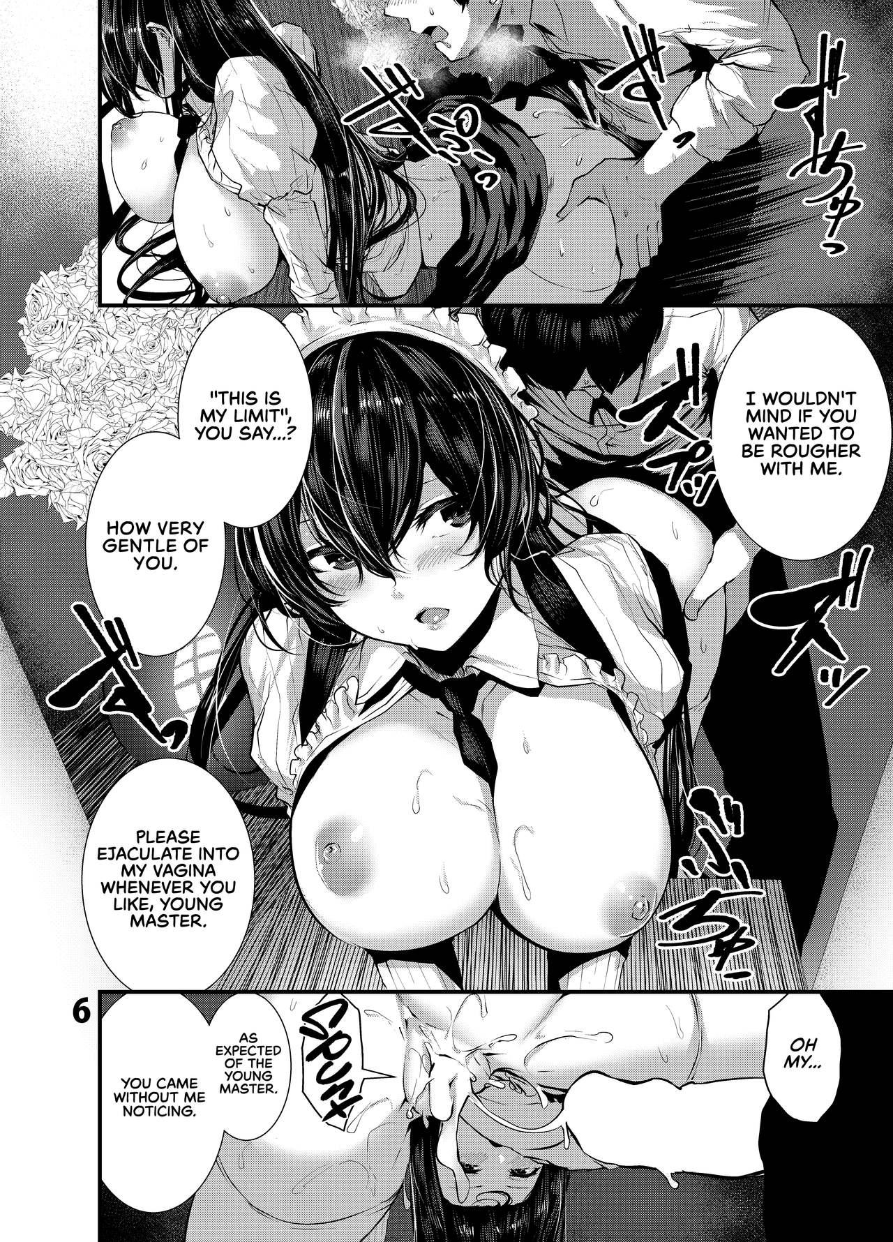 Maguro Maid to Mecha Shikotama Ecchi | Lots and Lots of Sex With a Dead Lay Maid 5