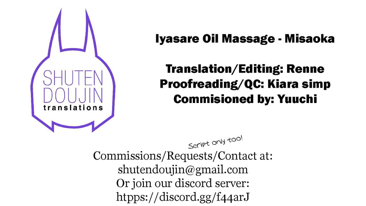 Iyasare Oil Massage 24