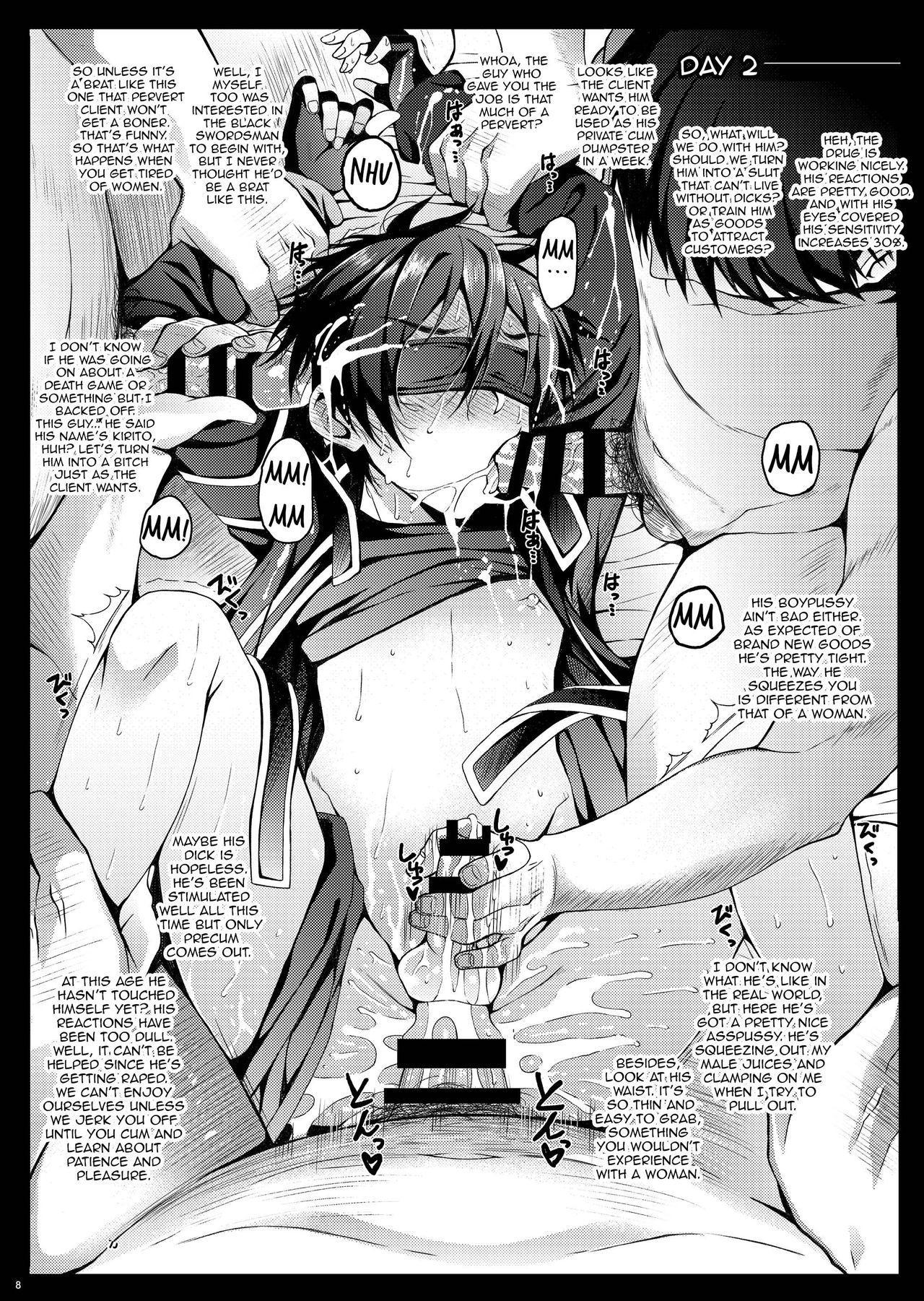 Kuro no Kenshi Ryoujoku 8