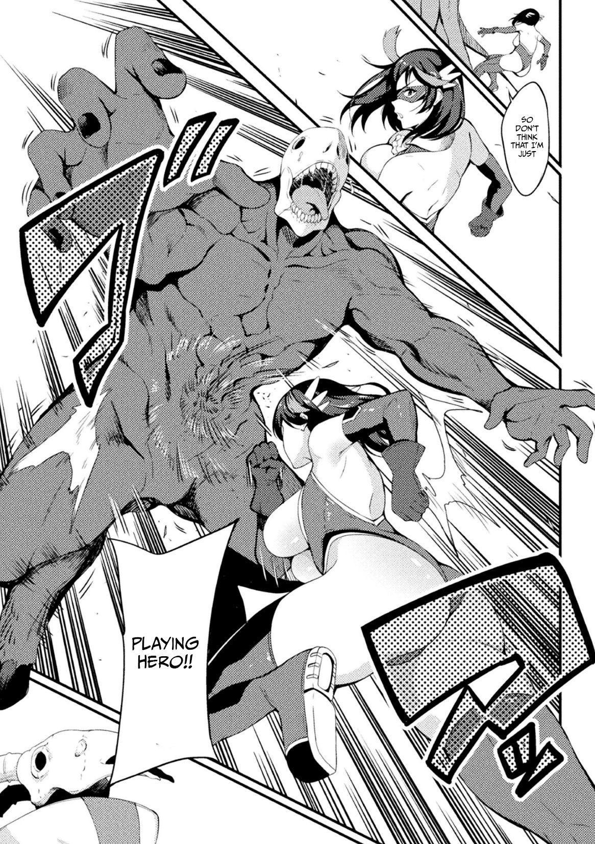 [Rinsun] Power Girl ~JK Super Heroine no Saiin Darakuki~ Ch. 2|Power Girl ~JK Super Heroine's Aphrodisiac Corruption Record~ Ch. 2 [English] [Neraka Translations] 8