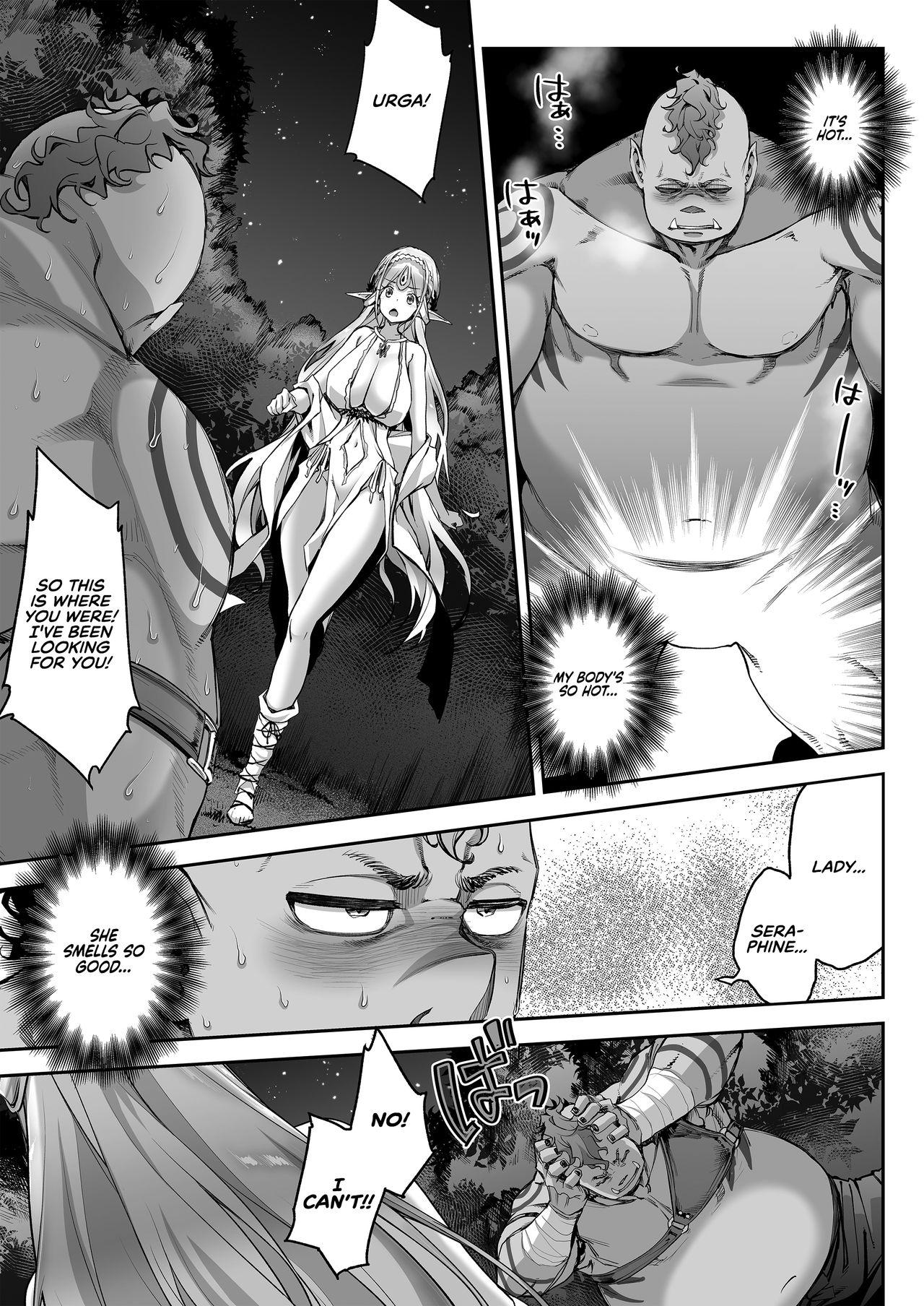 [Ichinose Land] Midara na Elf-san wa Orc-kun ga Osuki | The Lewd Elf likes the Orc [English] [RedLantern] [Digital] 15