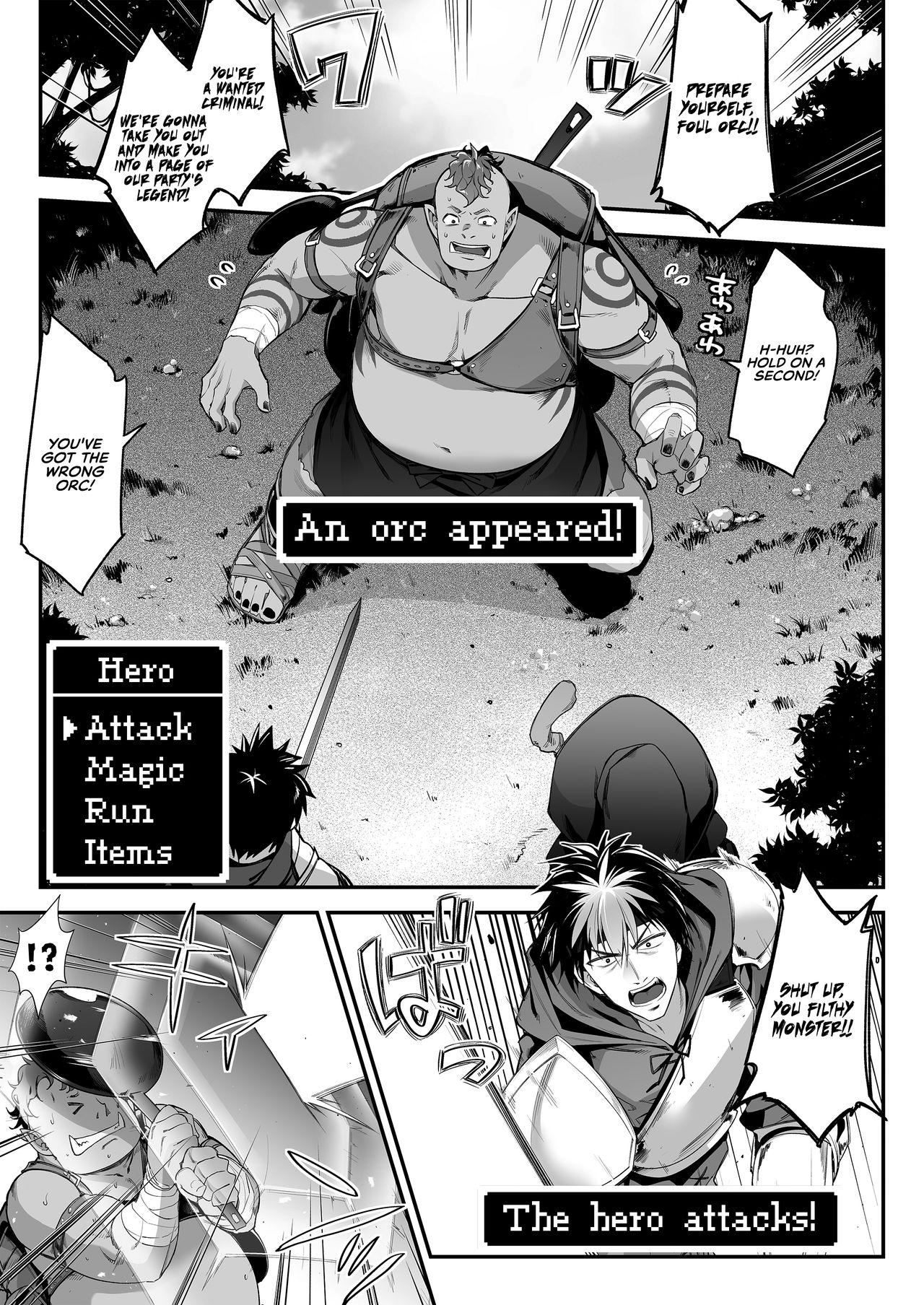 [Ichinose Land] Midara na Elf-san wa Orc-kun ga Osuki | The Lewd Elf likes the Orc [English] [RedLantern] [Digital] 3