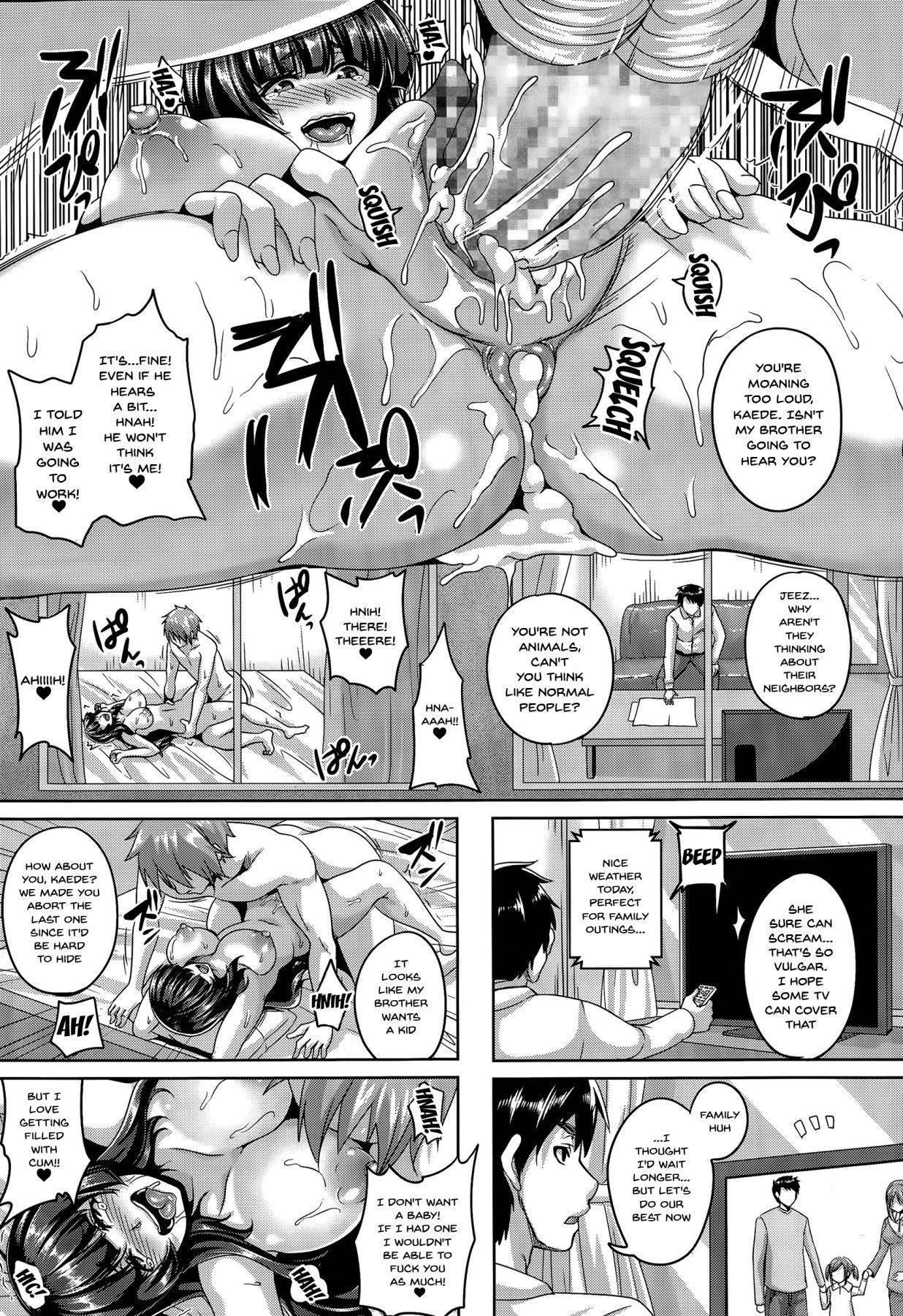 [Kazuhiro] Uragiri no Mesubuta Choukyou -Akogareno Gishi- | A Traitor's Sow Training -The Yearned For Sister-In-Law- [English] {Doujins.com} 62