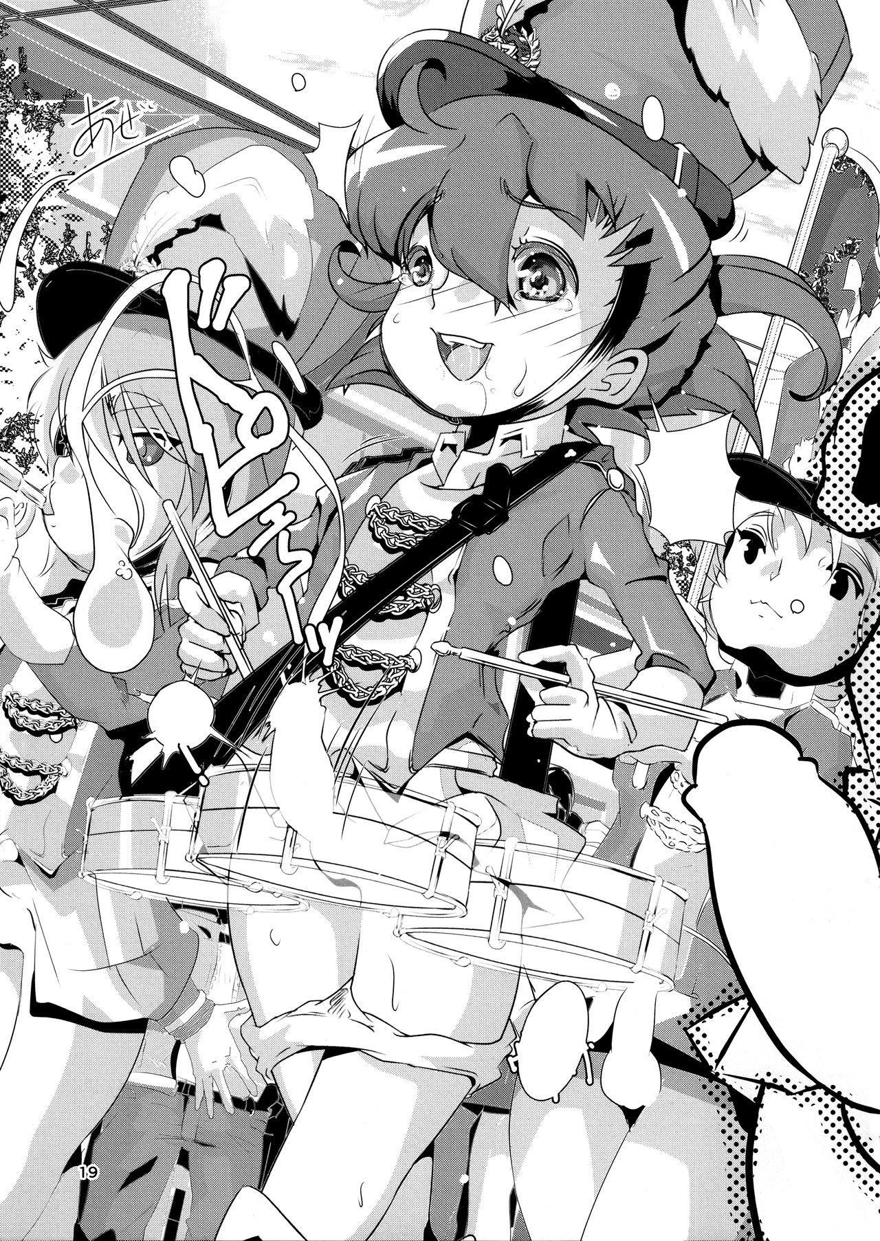 """Sensei! Marching Band de """"Jojisou"""" Shitemite!   Sensei! Try dressing up like a little girl in a Marching Band! 19"""