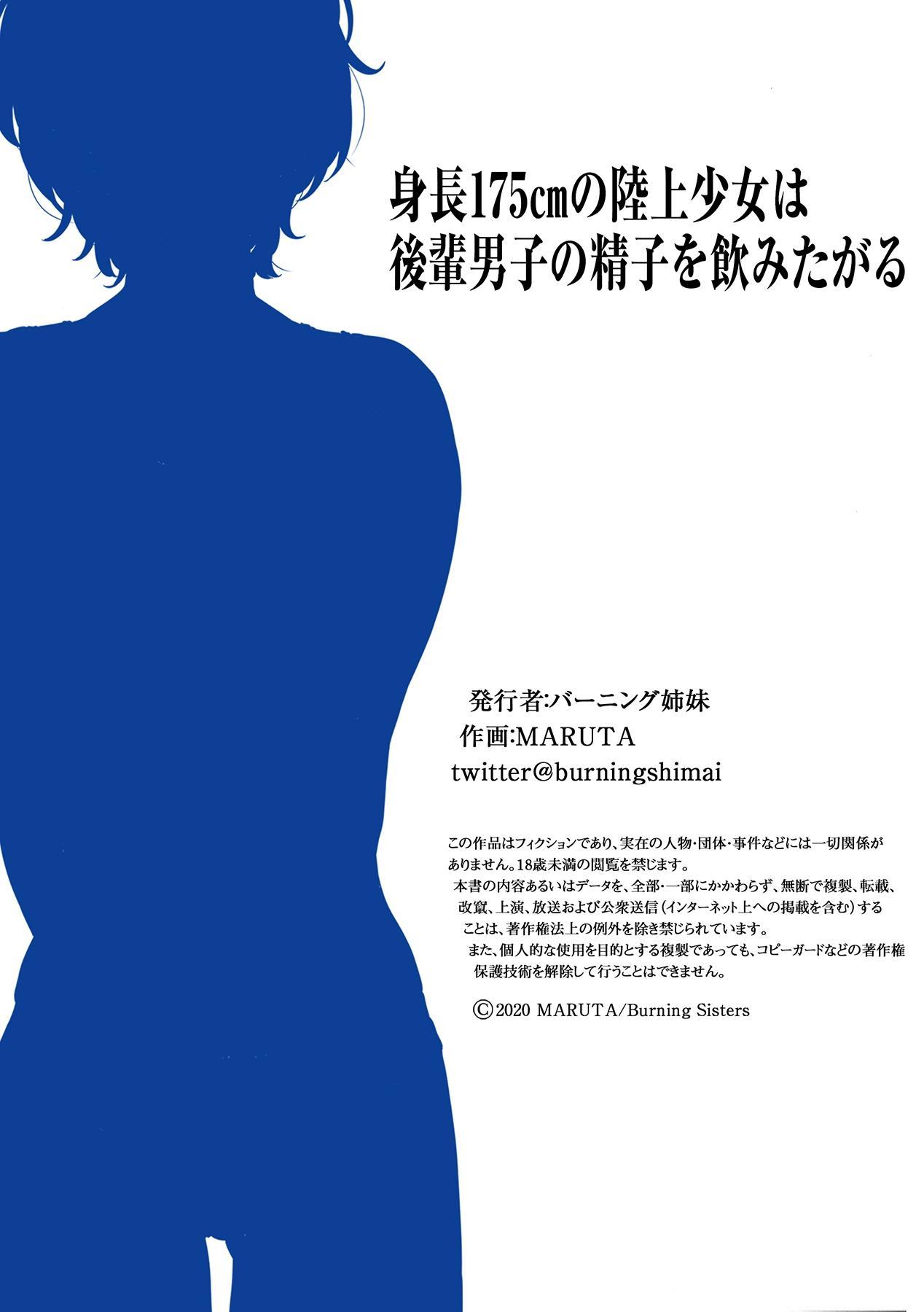Shinchou 175cm no Rikujou Shoujo wa Kouhai Danshi no Seishi o Nomitagaru 62