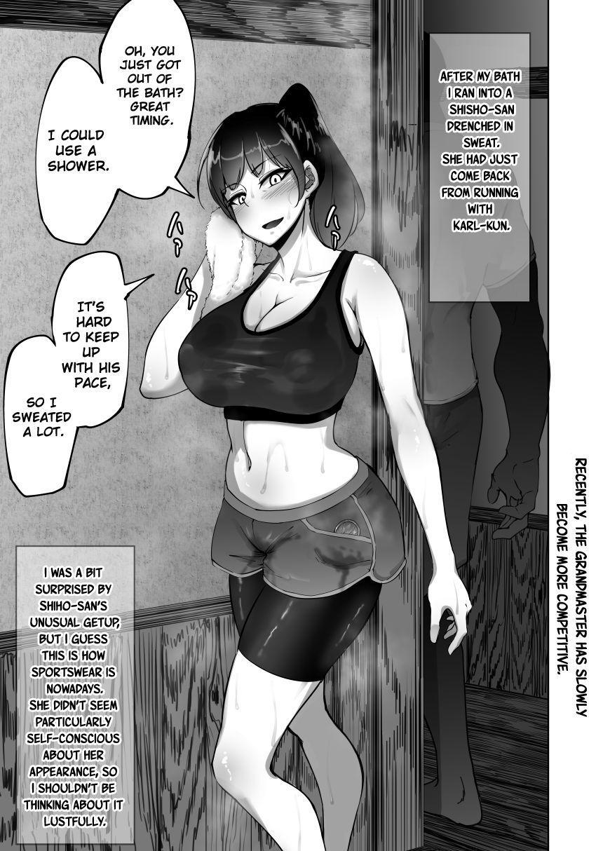 [Rasson] Shiho-san to Kokujin no Ryuugakusei   Shiho-san and the Foreign Exchange Student [English][ChoriScans & KwKWaifu] 12