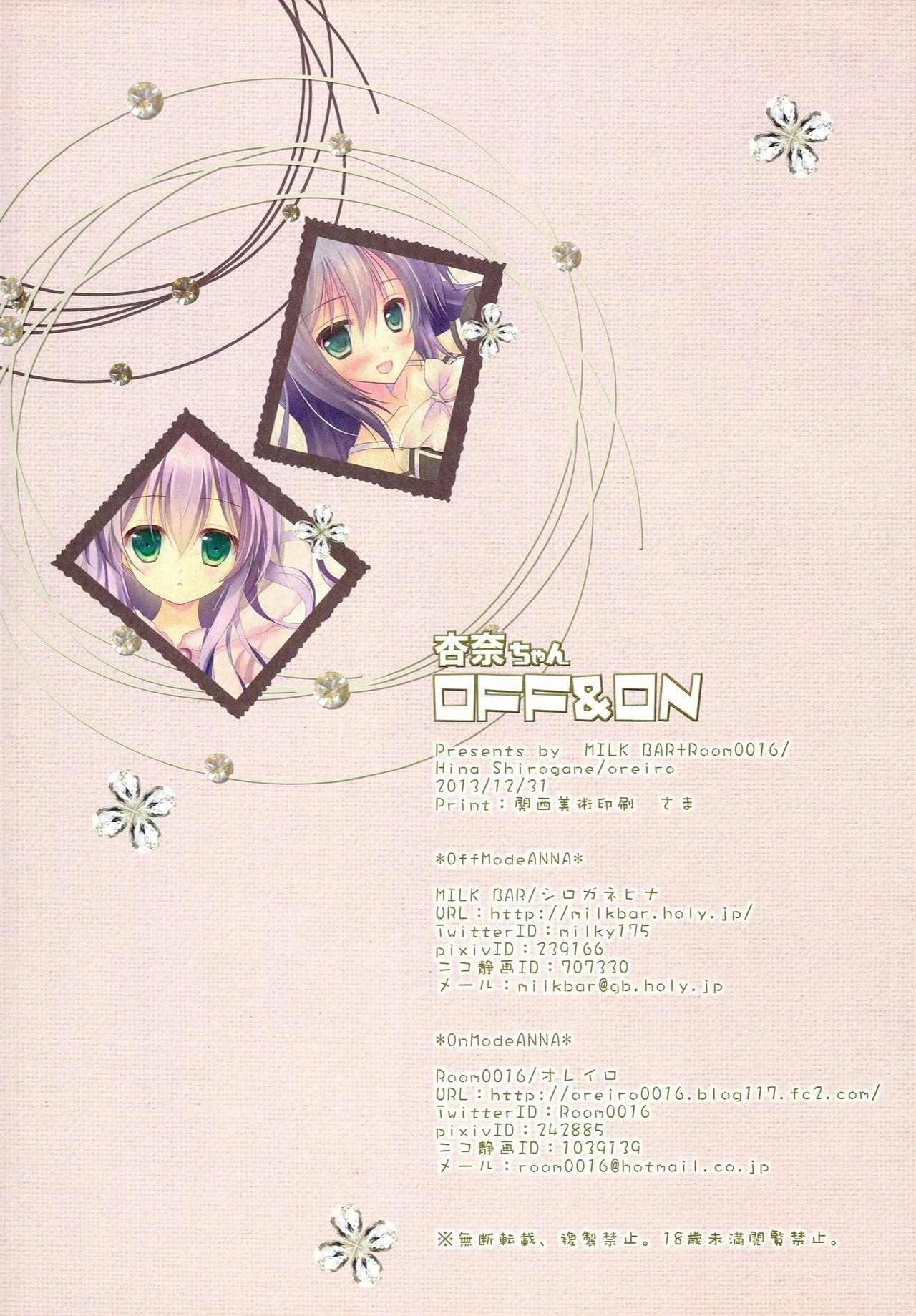 Anna-chan OFF & ON 17