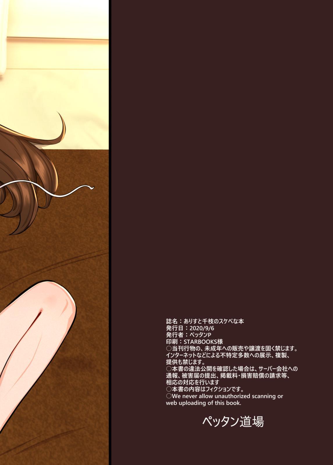 Arisu to Chie no Sukebe na Hon 35